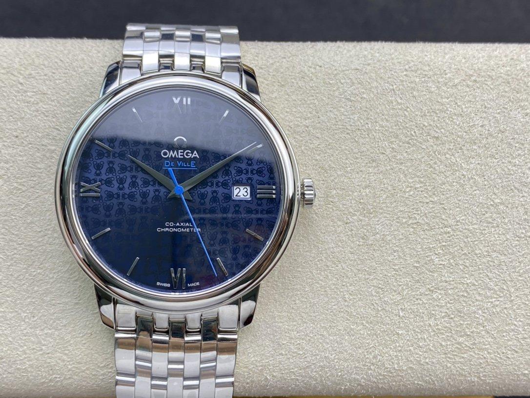 RXW出品高仿歐米茄蝶飛系列奧比斯紀念款424.10.40.20.03.003 複刻手錶