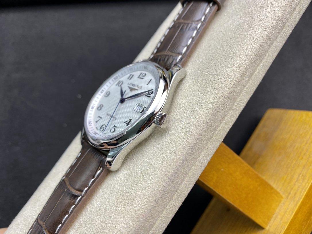 KY出品V2升級版高仿浪琴名匠三字位系列Cal.L619機芯40MM複刻手錶