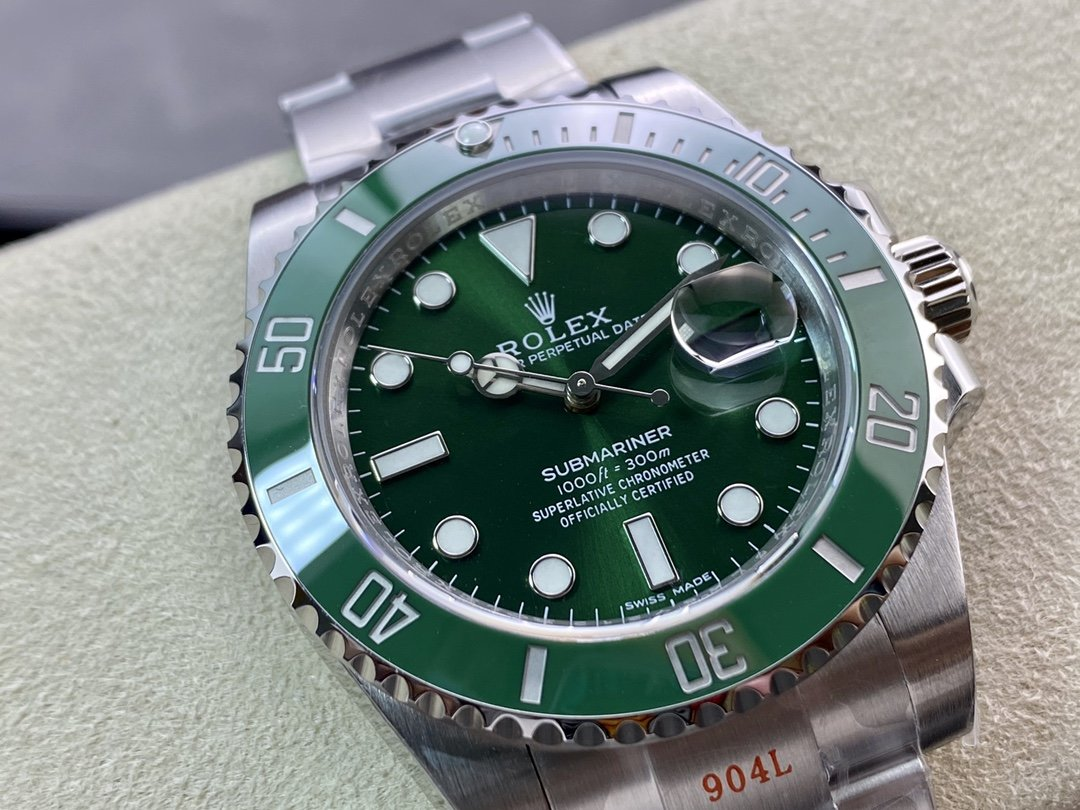 NOOB廠勞力士潛航者V11版黑水鬼綠水鬼複刻手錶