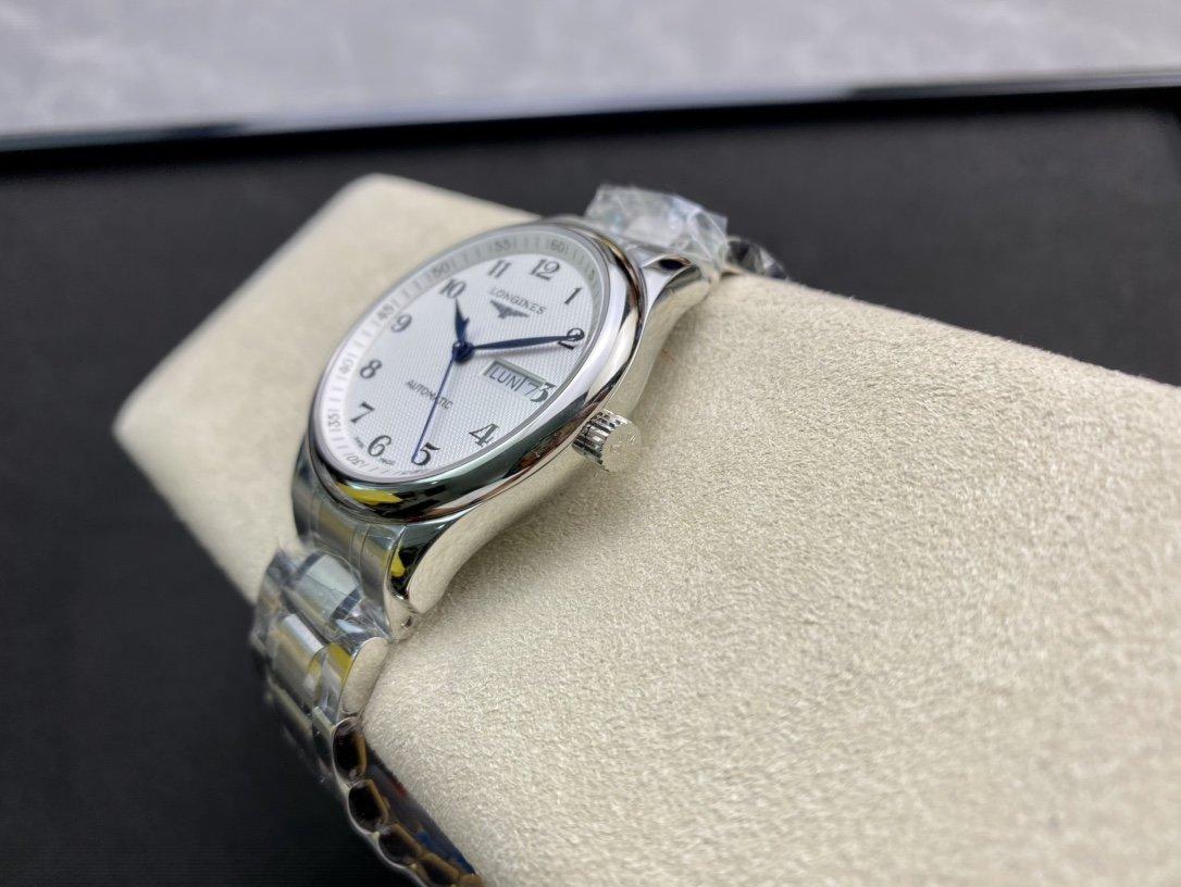 KY出品高仿浪琴名匠雙日曆系列2836機芯38.5MM複刻手錶