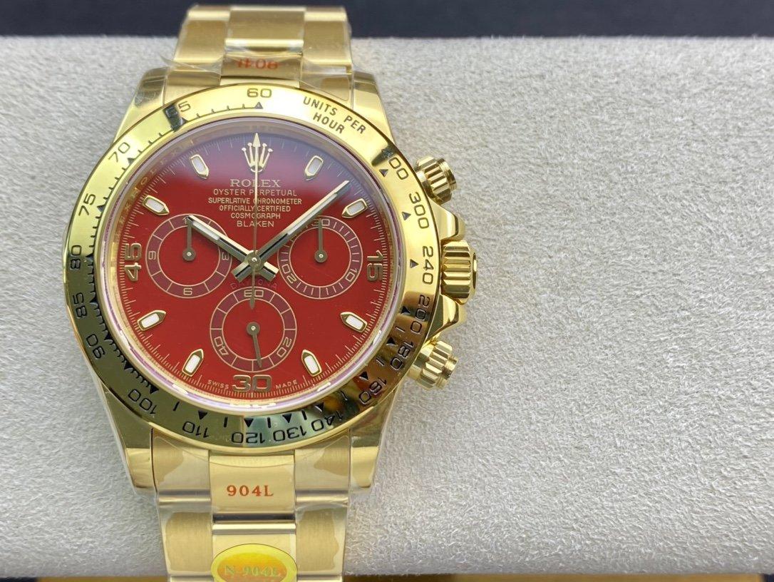 N廠手錶複刻勞力士迪通拿超級4130機芯一比一複刻手錶