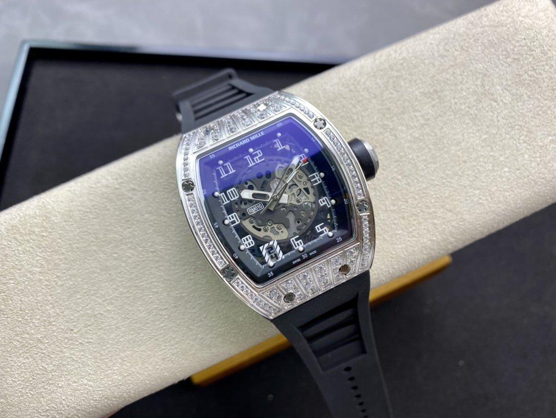 理查德米勒Richard Mille,RM010全新工藝時尚更前衛鏤空設計複刻手錶