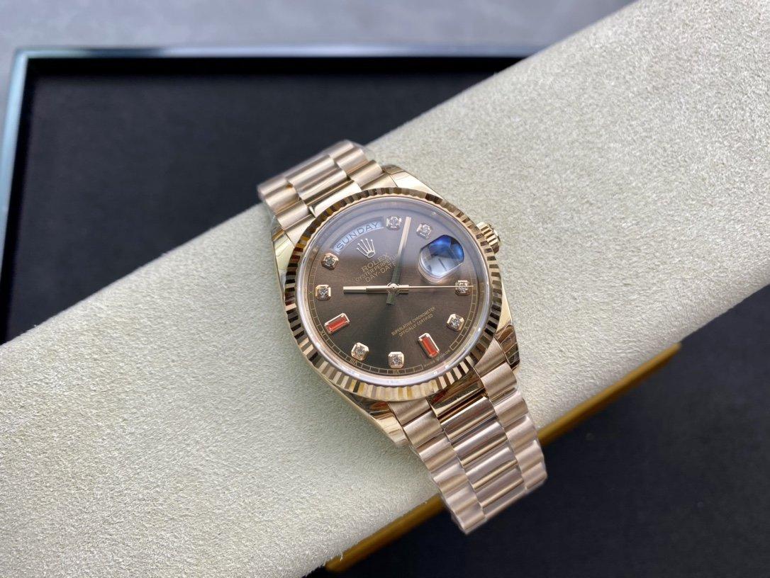 EW Factory高仿勞力士Rolex星期日志型3255機芯36MM複刻手錶