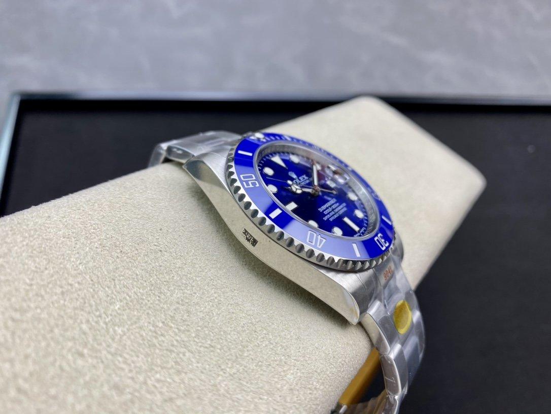 N廠高仿勞力士藍水鬼904鋼3135機芯複刻手錶