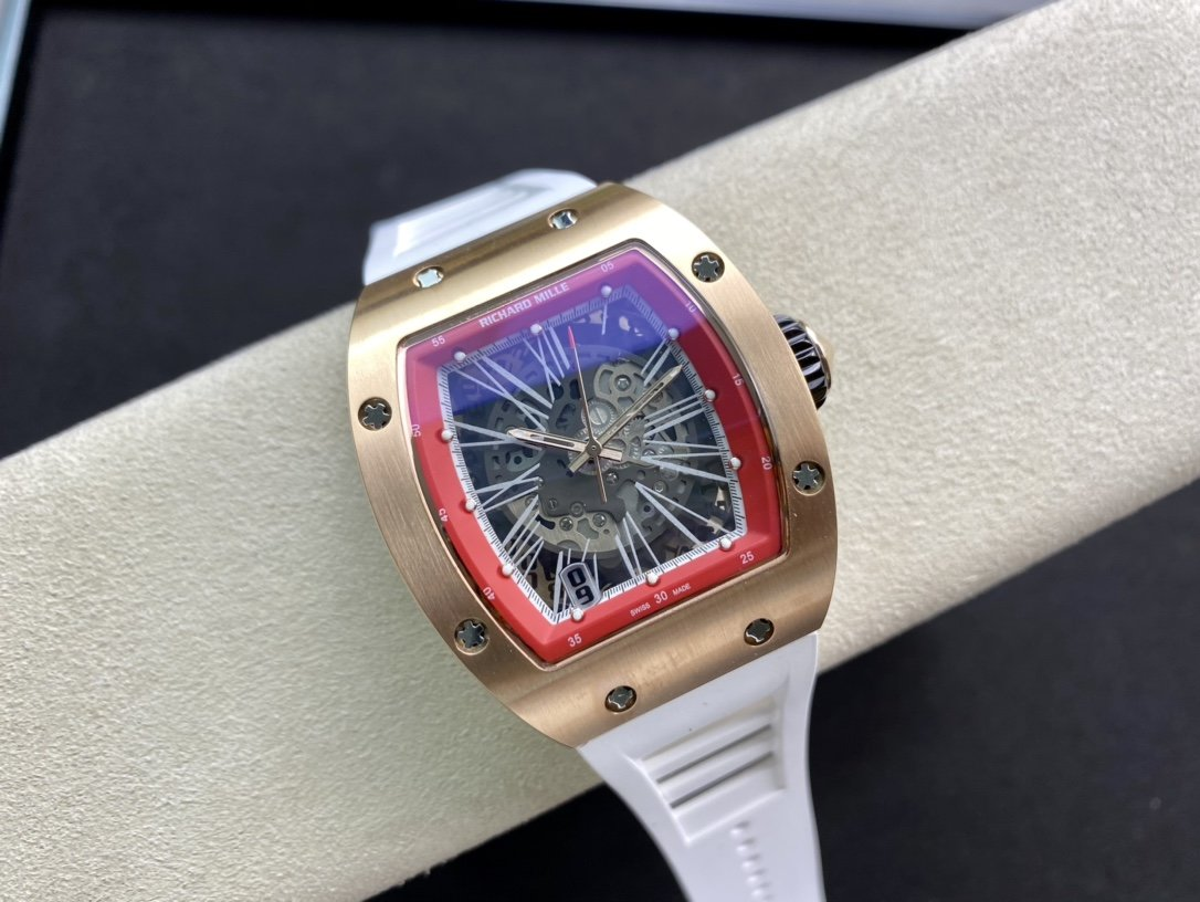 理查德米勒Richard Mille RM010全新工藝時尚更前衛鏤空複刻手錶