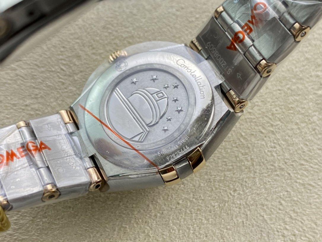 GF廠高仿歐米茄第五代星座系列25mm瑞士石英女士複刻腕表