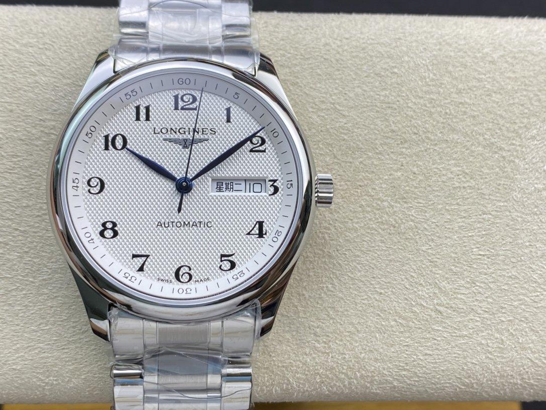 YL廠高仿浪琴名匠3位雙日曆系列複刻手錶