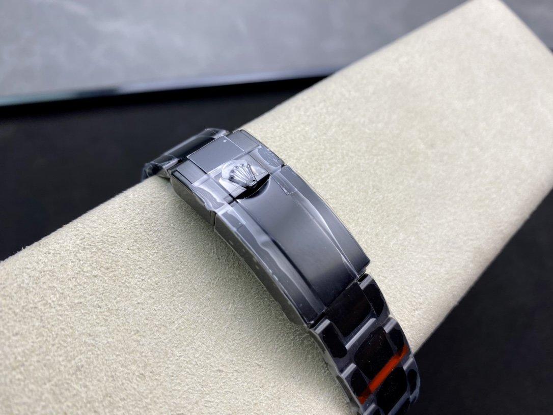 """""""三倍紅遊艇""""VR Factory魔改又添新品Triple Red 此款定制品是參考 Rolex 勞力士 黑遊艇1166220腕表系列複刻手錶"""