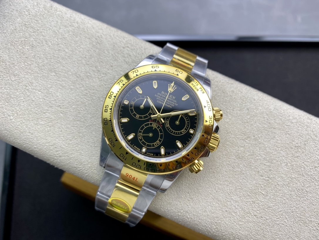 N廠高仿勞力士迪通拿超級Cal.4130機芯複刻手錶