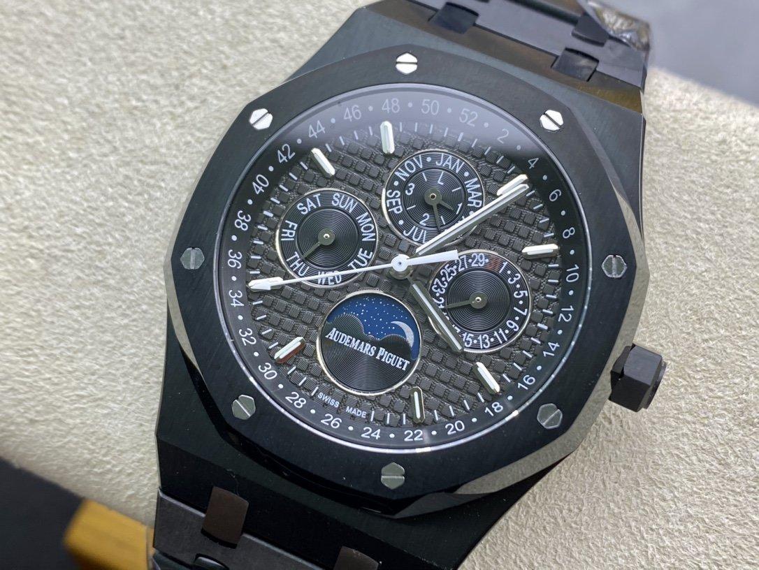 BF高仿愛彼AP皇家橡樹系列多功能腕表26574、26606複刻手錶