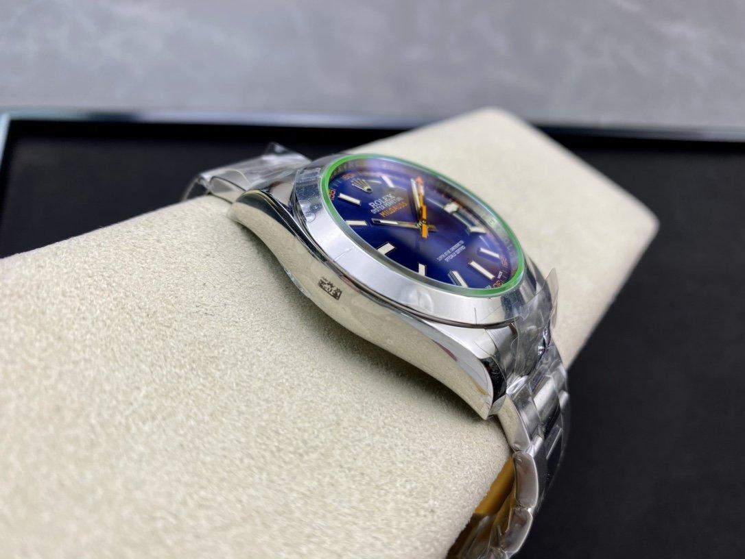 ARF高仿勞力士閃電綠玻璃ROLEX超級全904L格磁型114060複刻手錶