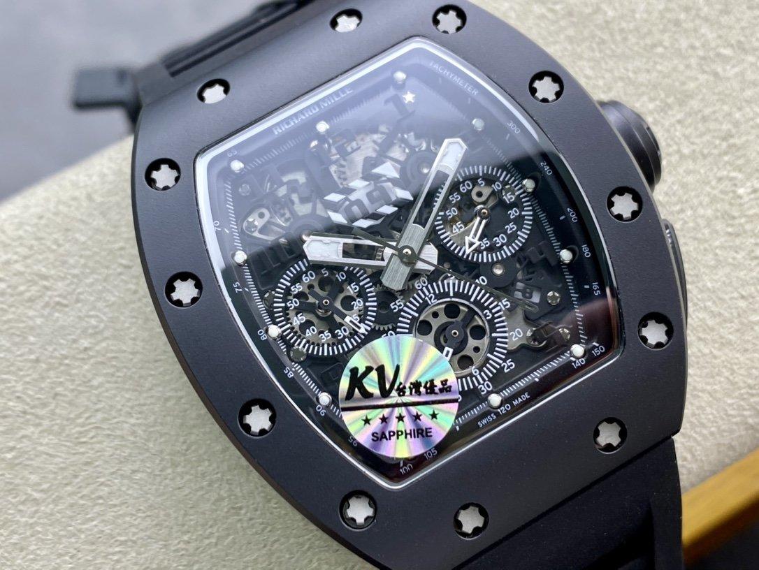 KV廠精仿手錶理查德米勒RM011系列計時款複刻手錶