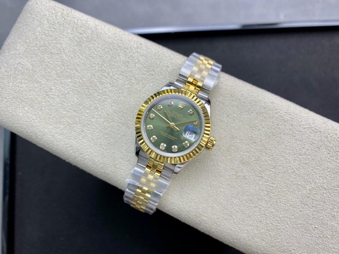 GS Factory高仿勞力士日誌28mm複刻手錶