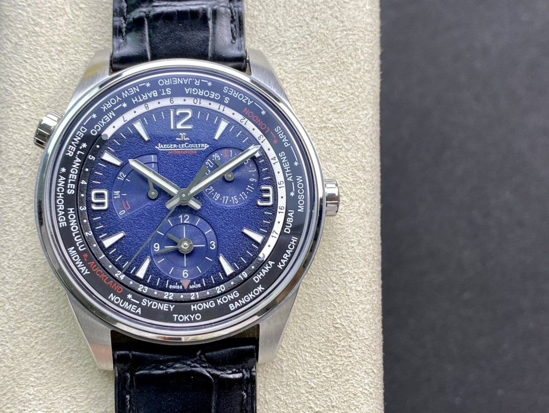 F高仿積家北宸系列地理學家世界時腕表(904847Z)複刻手錶