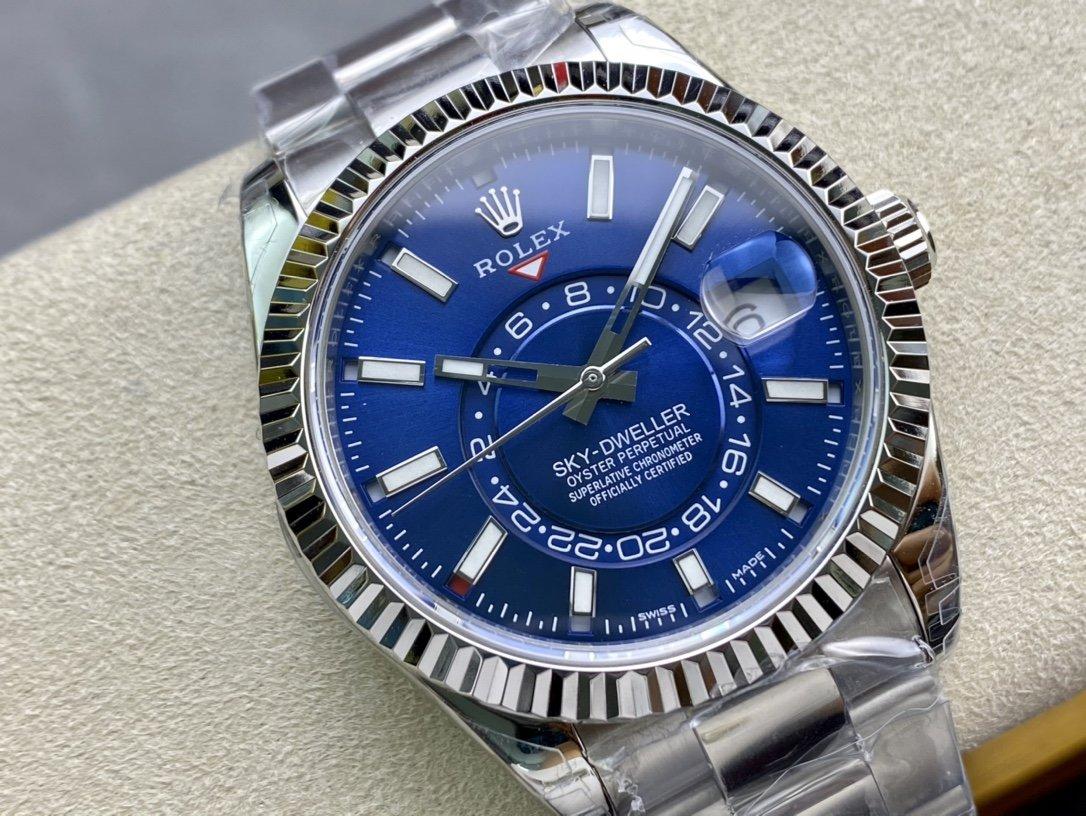 N廠高仿勞力士Rolex Sky-Dweller天行者複刻手錶
