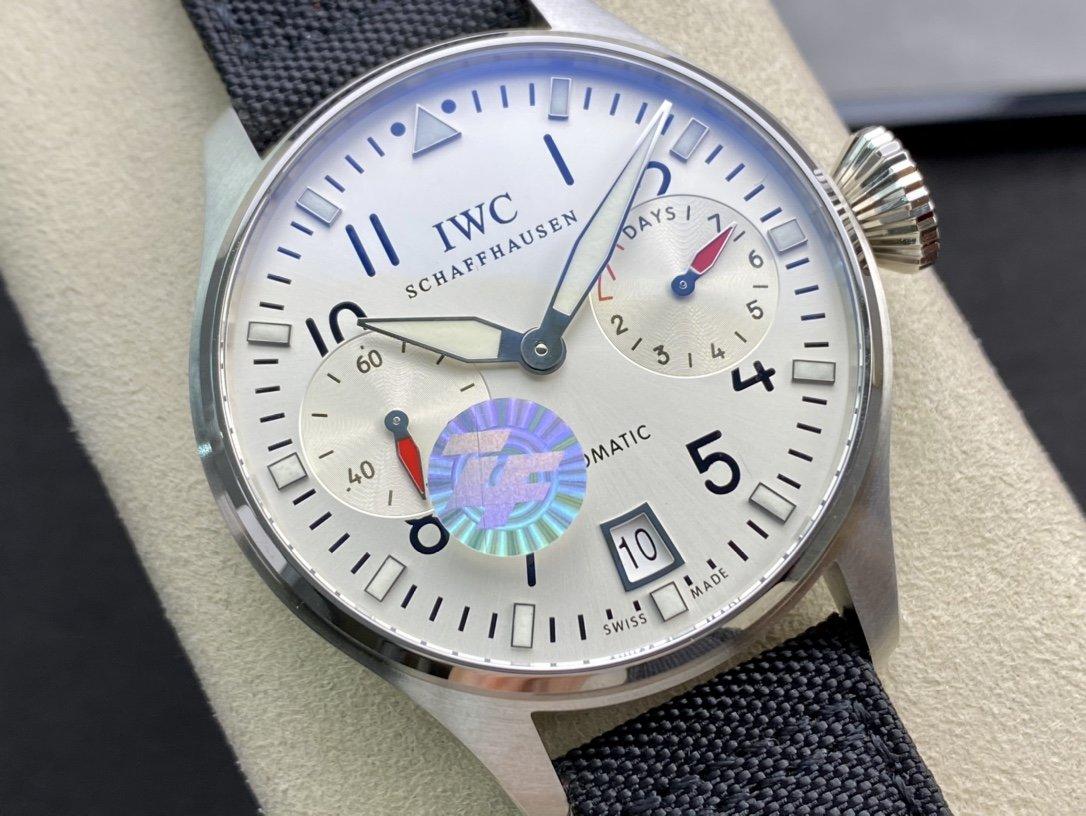 ZF小針特別款空中霸主萬國IWC空中霸主大飛(大飛行員)系列46mm複刻手錶