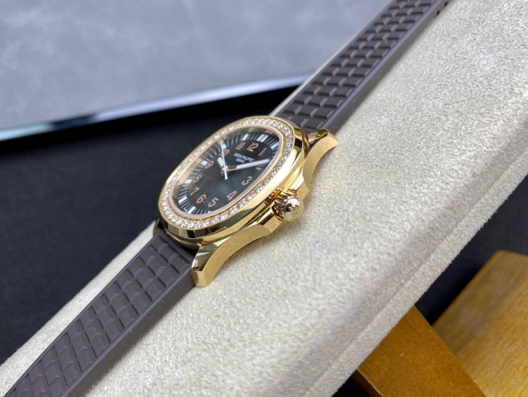 PPF手雷女表機械款百達翡麗AQUANAUT女裝機械系列高仿手錶