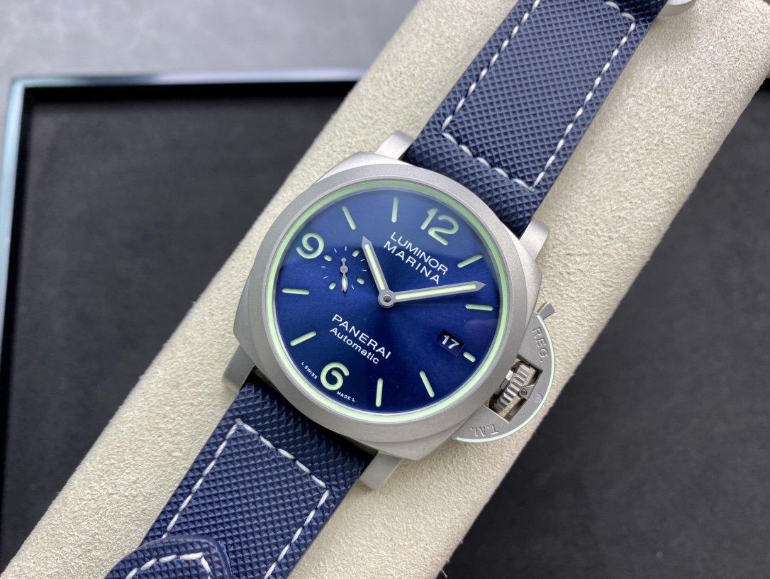 """VS廠沛納海44MM """"超級夜光""""PAM1117 鏤空三文治超級夜光錶盤複刻手錶"""