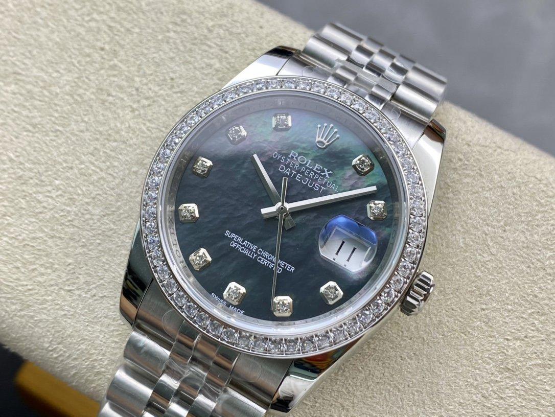 稀缺款BP勞力士日誌型36mm系列腕表精仿手錶