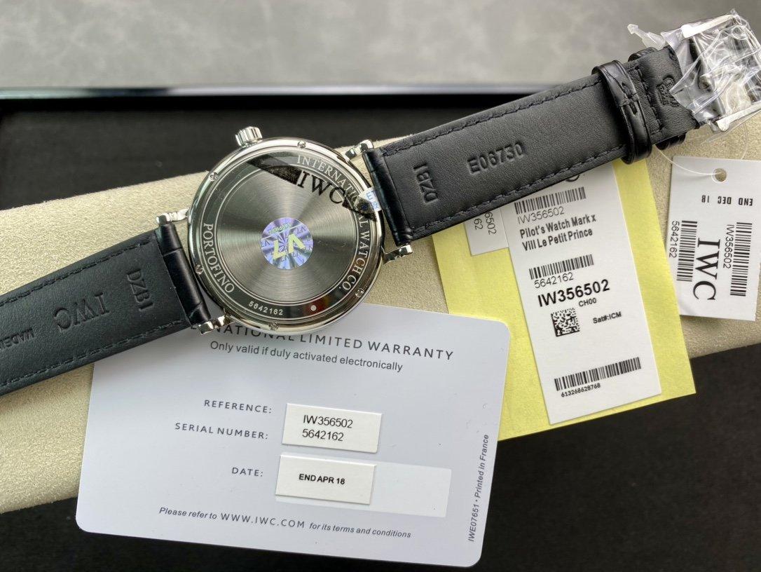 V7出品高仿萬國IWC波濤菲諾系列複刻手錶