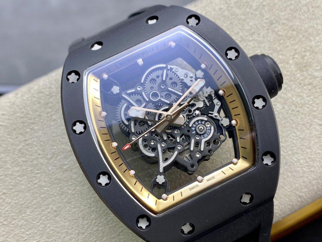 理查德米勒RICHARDMILLE最強複刻版RM055系列複刻手錶