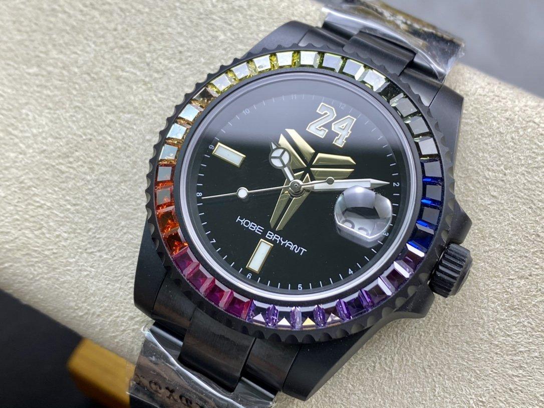 BLAKEN新品上市ROLEX mamba科比布萊恩特獨家紀念款限量發售複刻手錶