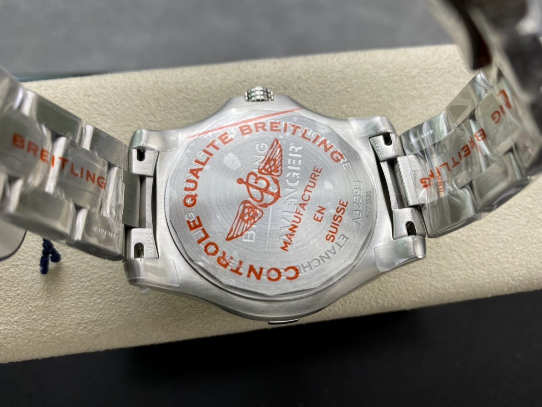 GF高仿百年靈復仇者GMT雙時區自動機械腕表45mm(Avenger Automatic GMT 45)精仿高仿手錶