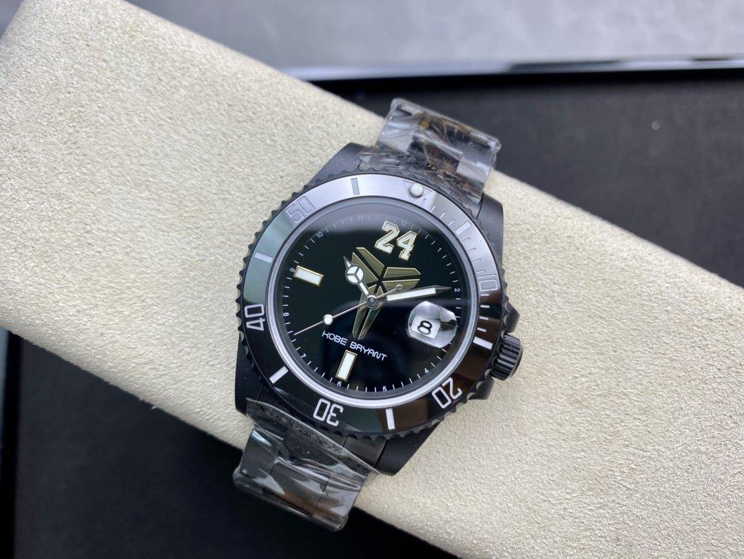 改装手表BLAKEN新品上市ROLEX mamba科比布萊恩特獨家紀念款限量發售複刻手錶