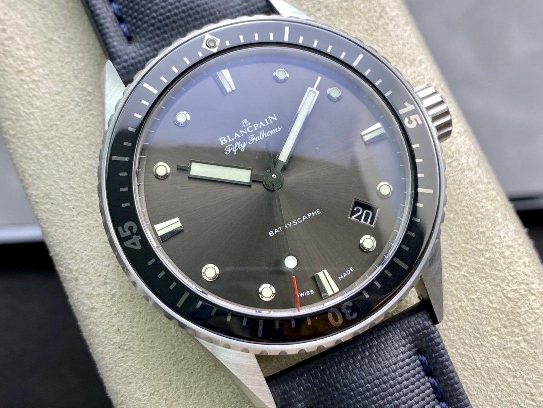 8F精品寶珀(Blancpain)五十尋 50尋系列 5000-1110-B52A複刻手錶