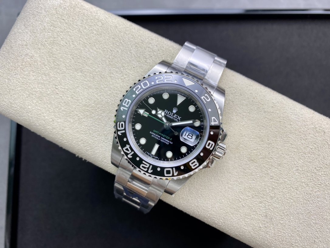 VR Factory高仿勞力士格林尼治型3186機芯複刻手錶