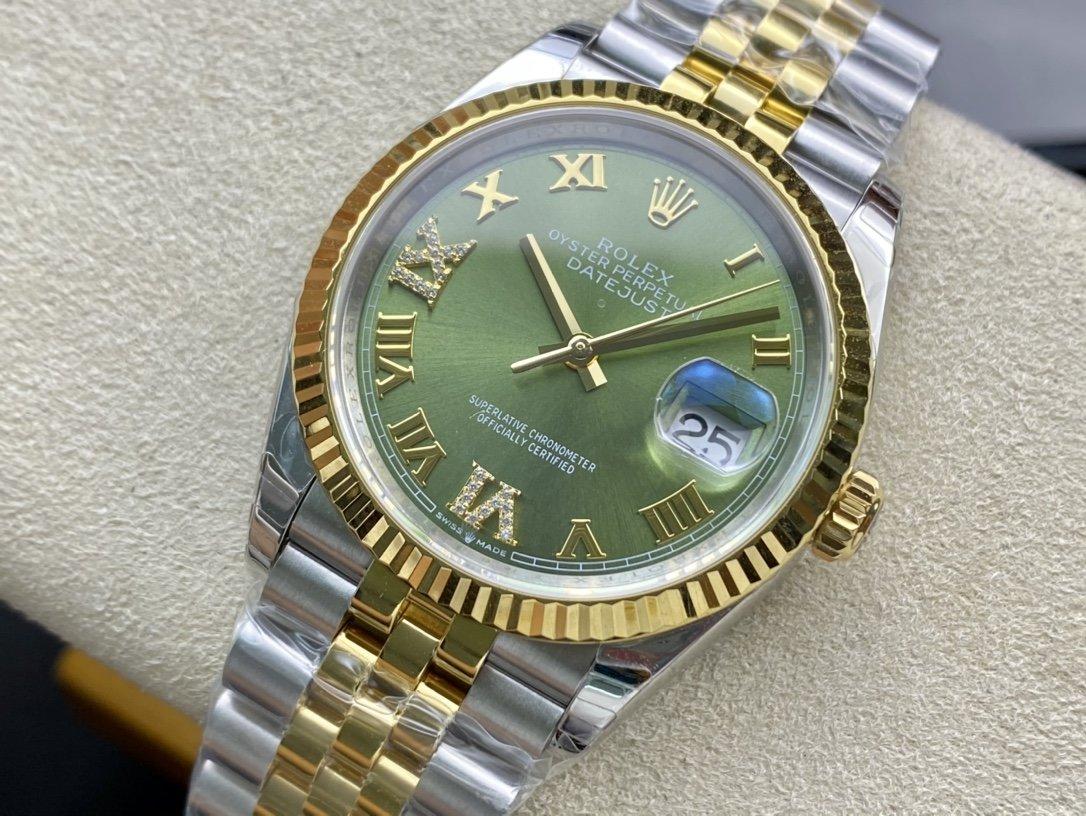 EW Factory高仿勞力士Rolex Replica watch原版開模3235自動機械機芯日誌型系列126233日誌型腕表複刻手錶