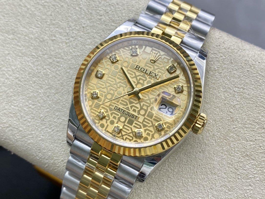 EW Factory 勞力士Rolex原版開模3235自動機械機芯日誌型系列126233日誌型腕表複刻手錶