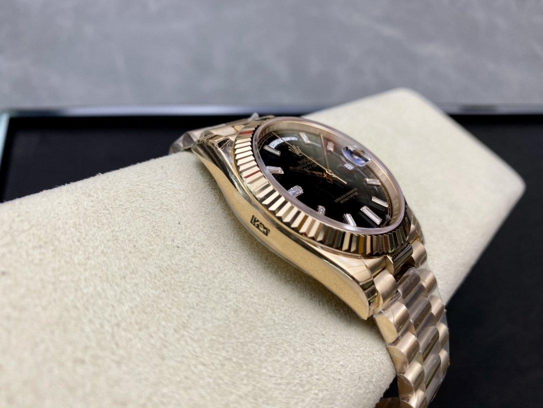 EW Factory最新力作V2升級版勞力士Rolex星期日志型40mM高仿手錶