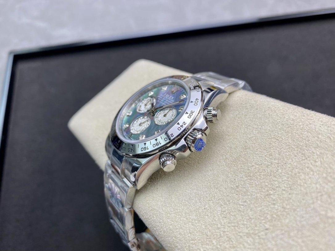 BL廠勞力士珍珠母貝錶盤迪通拿高仿手錶