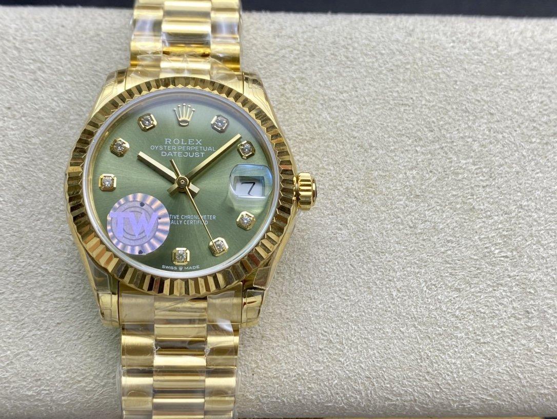 TW廠手錶高仿勞力士蠔式恒動31日誌複刻手錶