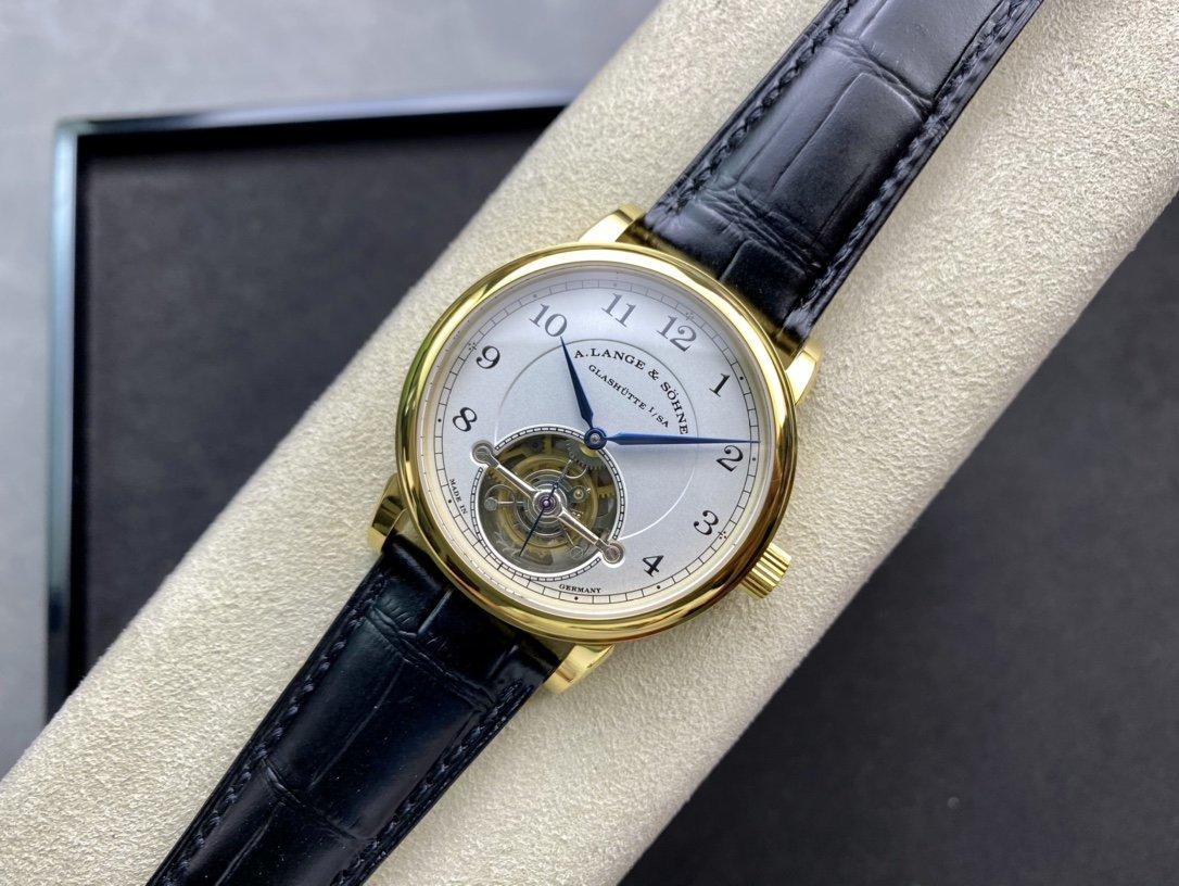 新版V2朗格1815 Tourbillon系列真陀飛輪複刻手錶