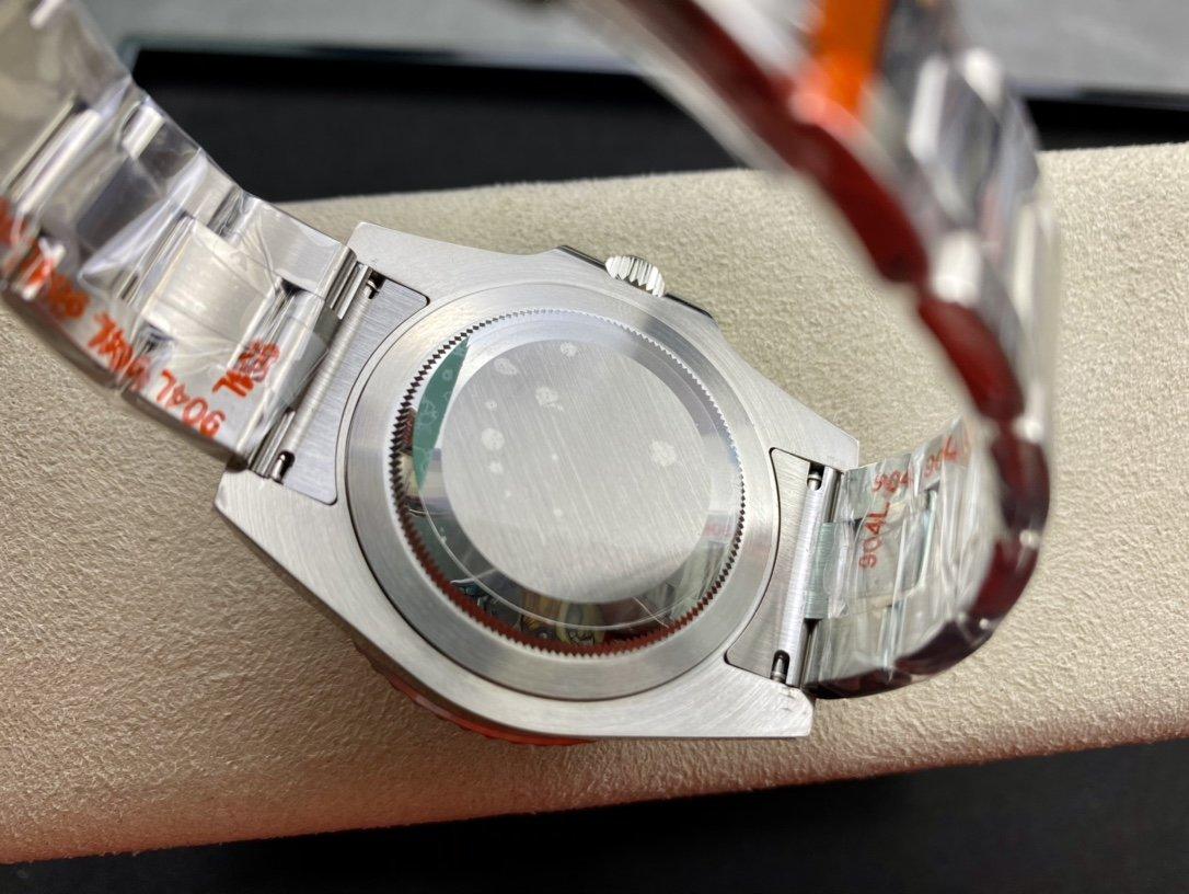 N廠手錶V11版勞力士GMT格林尼治黑圈及藍黑圈升級版複刻手錶