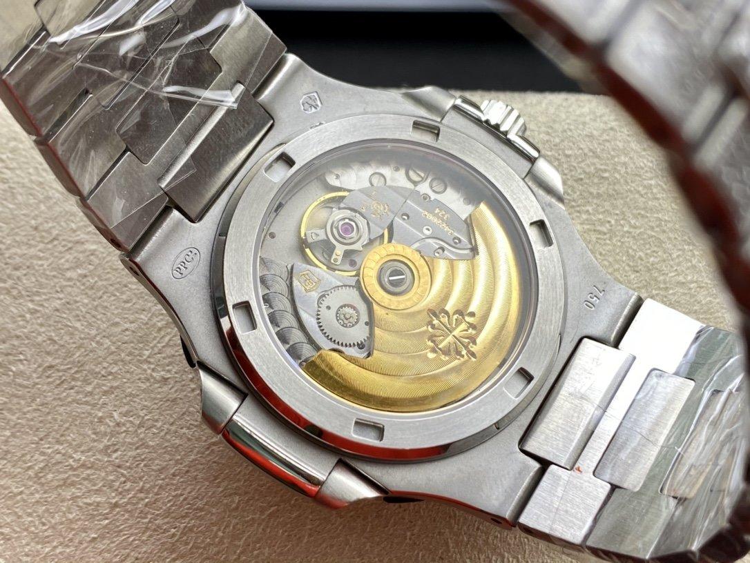 DM 廠V2升級版高仿百達翡麗滿天星方鑽運動系列滿鑽鸚鵡螺5719/10G-010複刻手錶