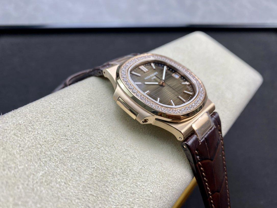 MP廠高仿百達翡麗鸚鵡螺鋼表之王5711鸚鵡螺複刻手錶