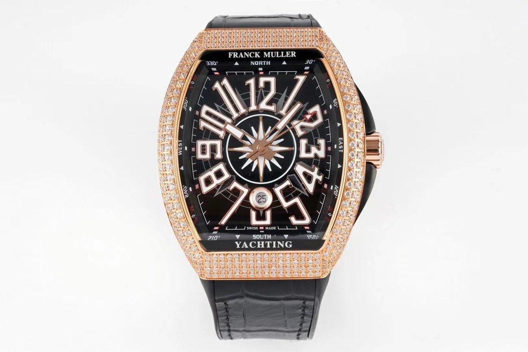 ABF遊艇V45最高品質Franck Muller法蘭克穆勒44x54 mm複刻手錶