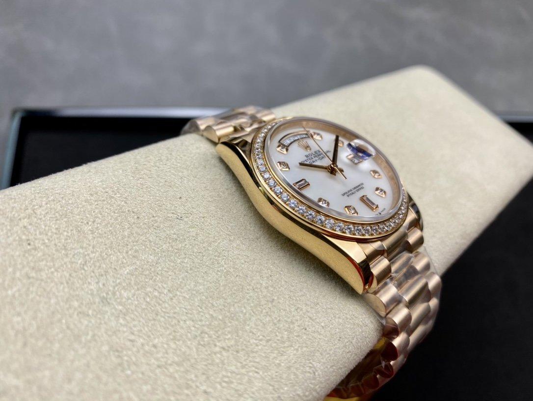 BP廠高仿勞力士星期日志系列2836機芯40mm複刻手錶