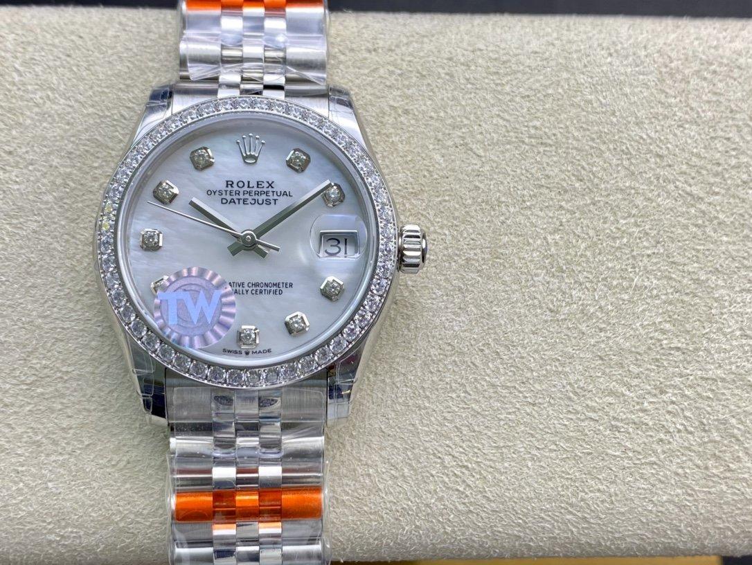 TW廠高仿勞力士蠔式恒動31日誌複刻手錶