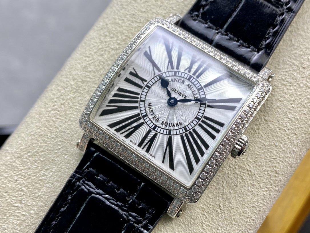 GF複刻工藝新極致Franck Muller法穆蘭MASTER SQUARE系列6002 M QZ女士石英腕表高仿手錶