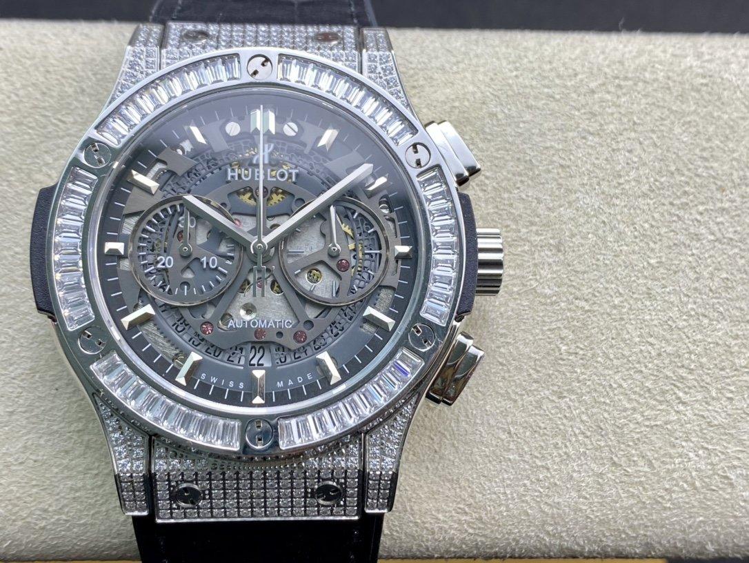TA出品宇舶hublot恒寶滿鑽經典融合CLASSIC FUSION系列計時腕表高仿手錶