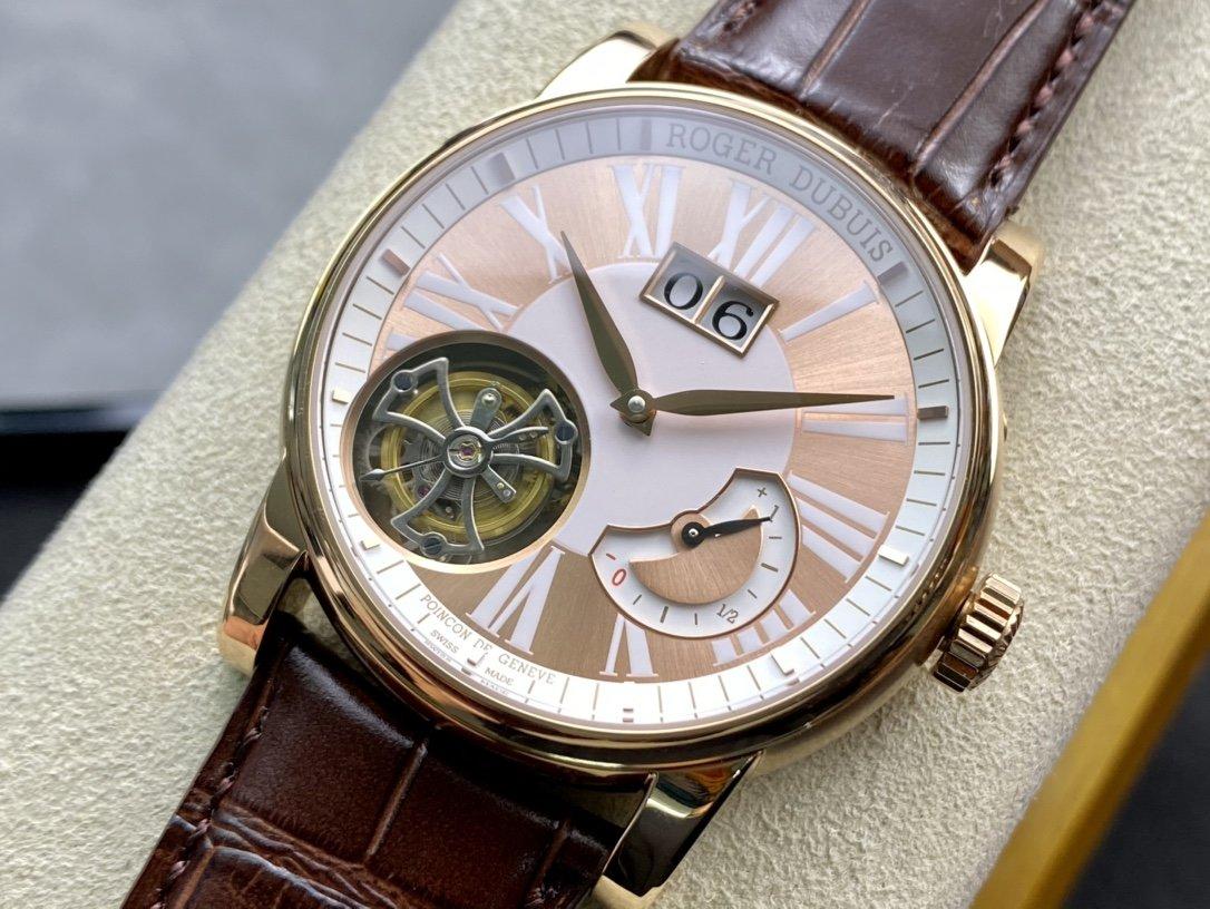 AX出品羅傑杜彼HOMMAGE致敬系列陀飛輪RDDBHO0568腕表複刻手錶