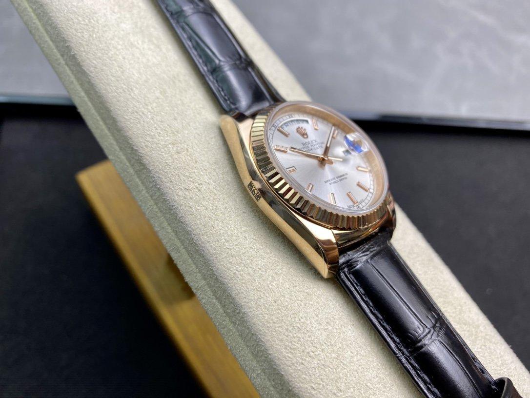 高仿勞力士最經典的星期日志系列36mm複刻手錶