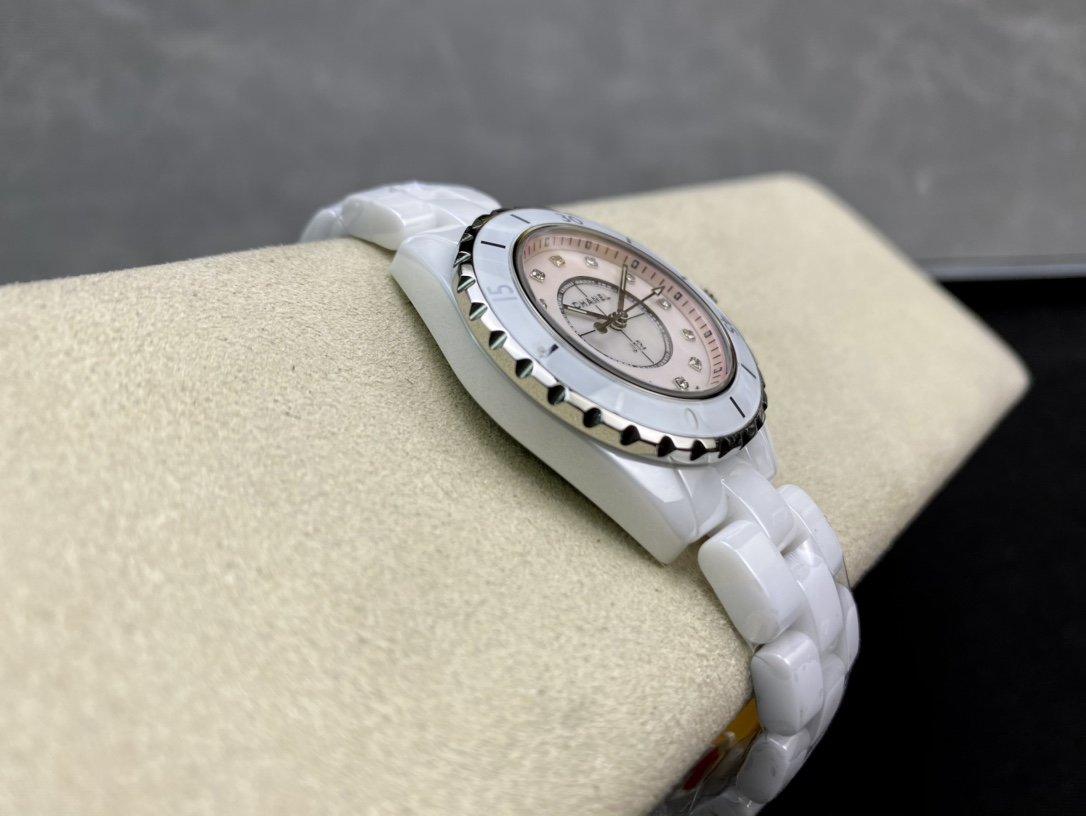 CHANEL高仿香奈兒J12系列33MM石英款複刻手錶
