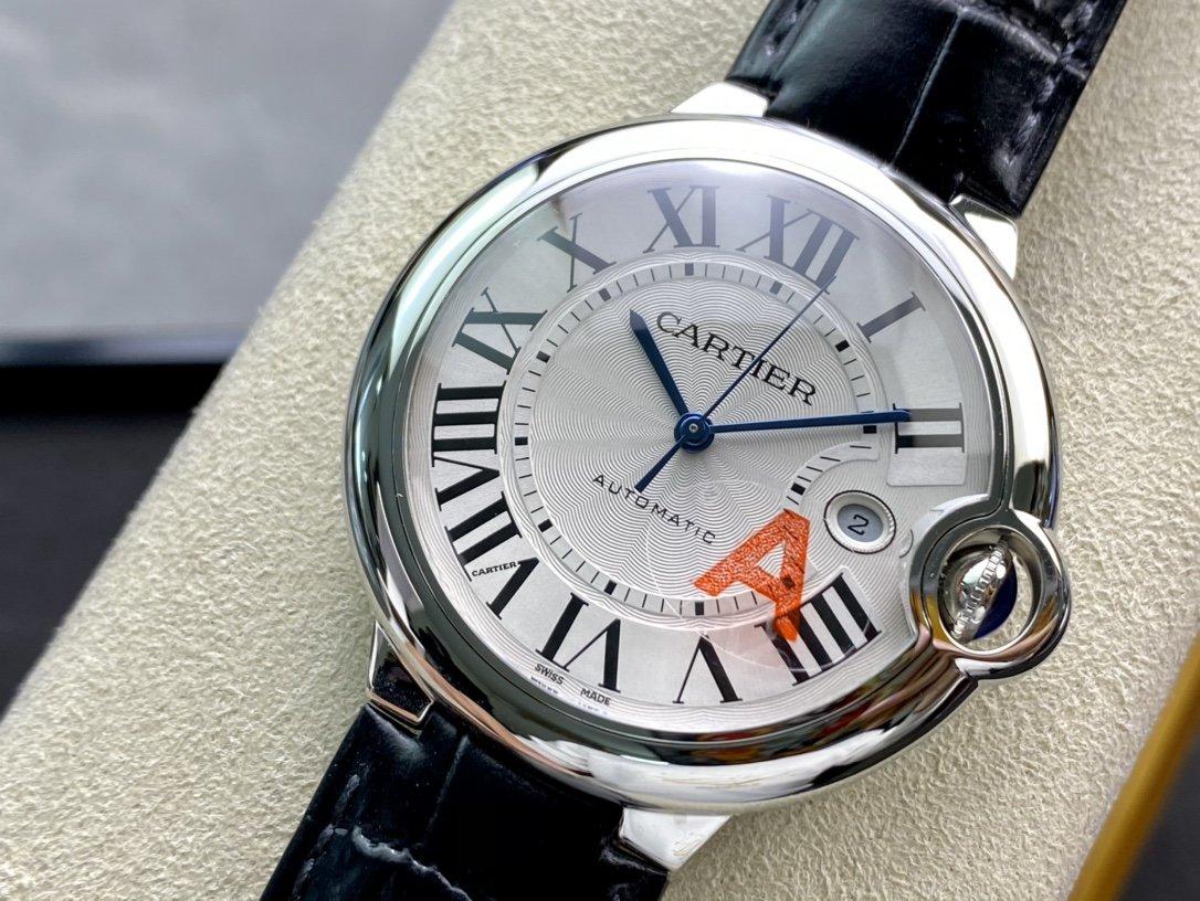V6-F高仿卡地亞42mm藍氣球V8版複刻手錶