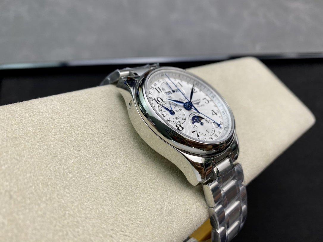GL廠高仿浪琴名匠八針月相系列複刻手錶