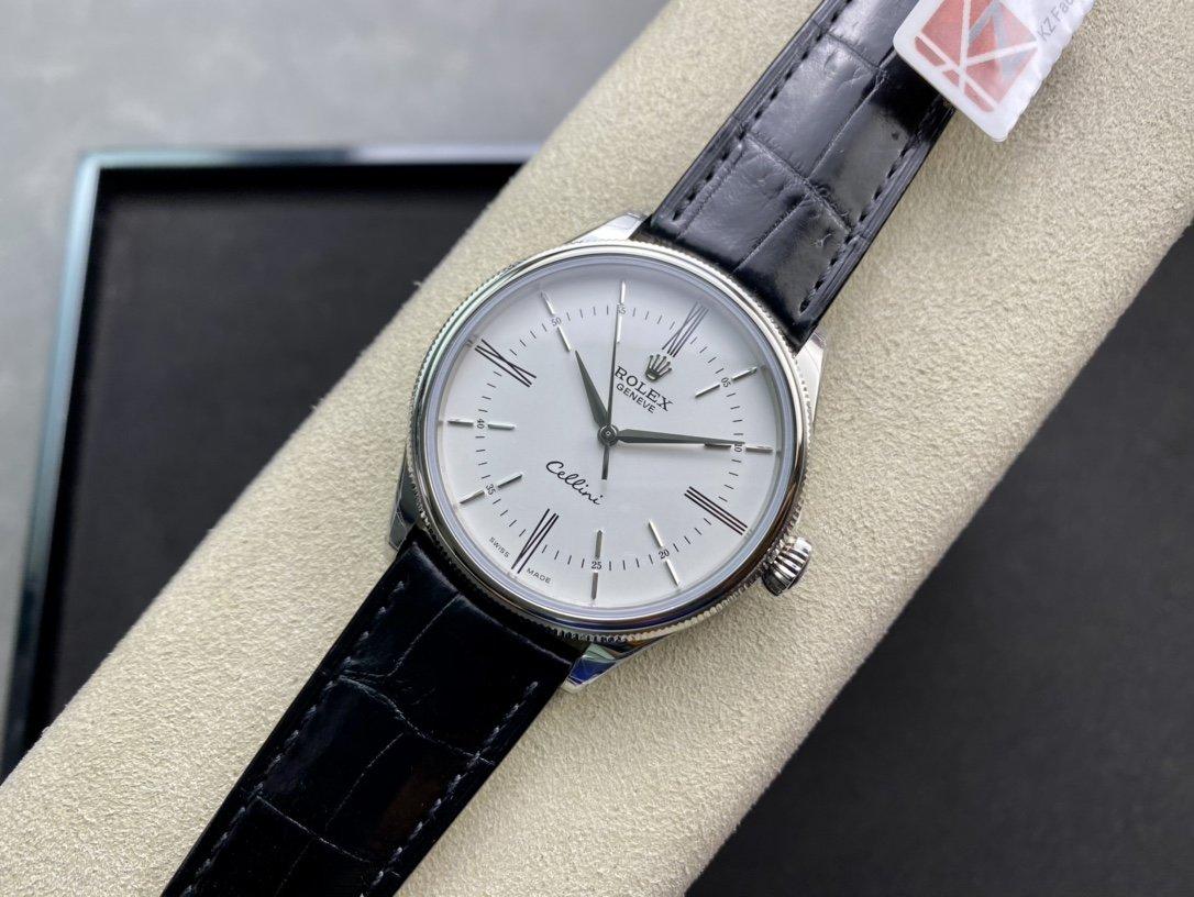 "KZ再造""芯""款最佳版勞力士切利尼50509時間型自動腕表高仿手錶"